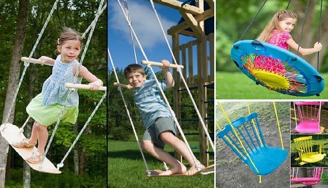 unique diy swing ideas for the kids diy cozy home