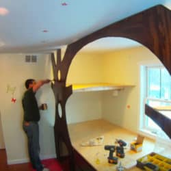 How To Transform Your Child's Bedroom Into A Whimsical Treehouse