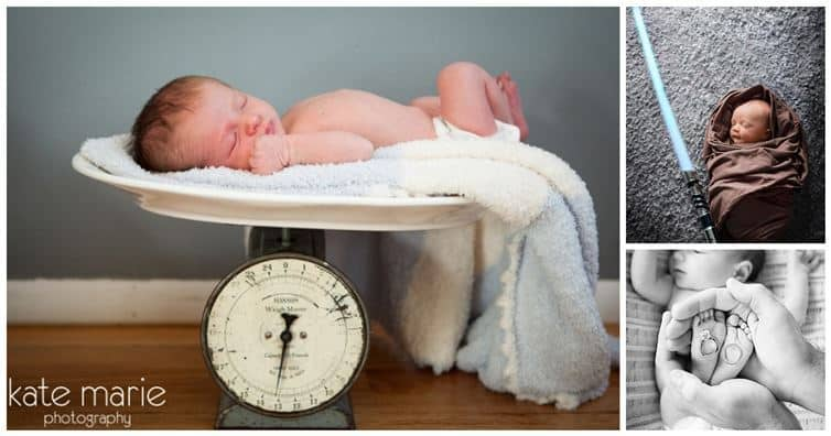 The Cutest Newborn Photo Ideas Ever Diy Cozy Home