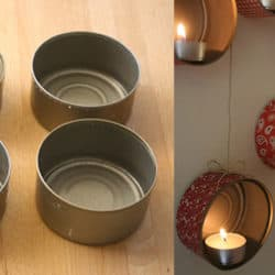 Turn Tuna Cans Into A Lovely DIY Mood Lighting Piece