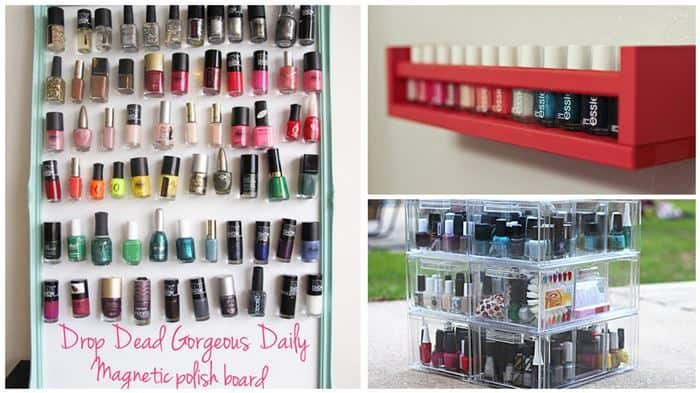 Clever Diy Nail Polish Storage Ideas Diy Cozy Home