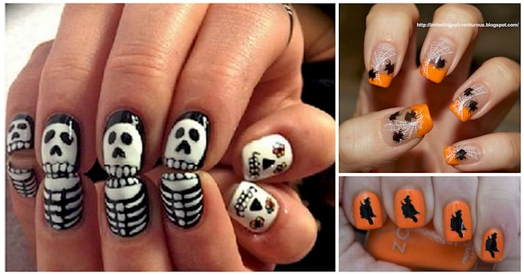 Clever Halloween Nail Designs