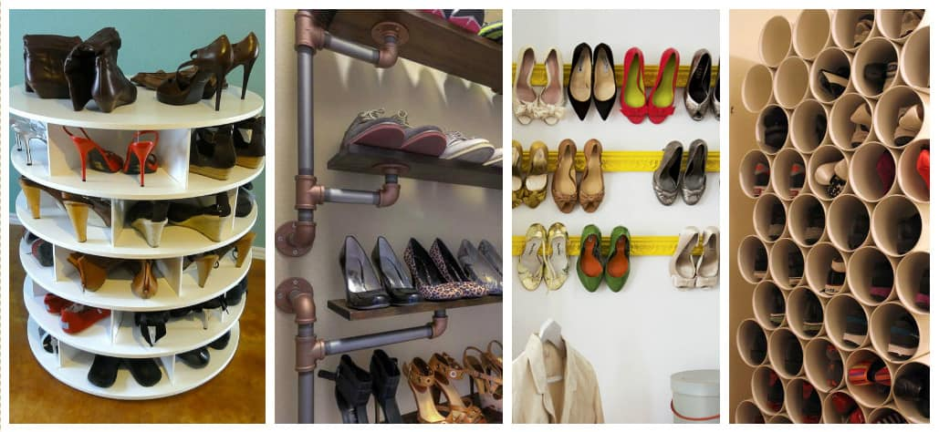 Diy Storage Ideas diy storage ideas for your endless amount of shoes | diy cozy home
