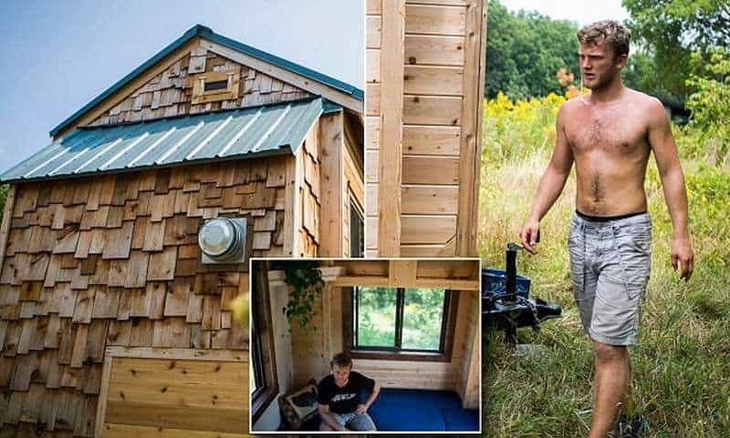 college student tiny home