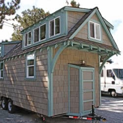This Craftsman Style Tiny Home is 170 Sq Ft Of Perfection