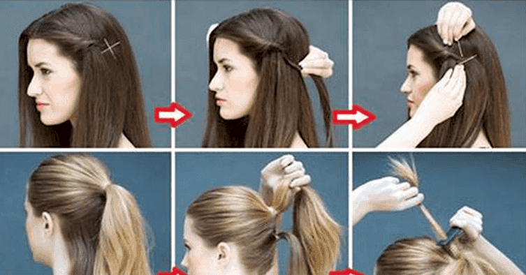 Latest Party Hairstyle for long hair  Easy hairstyle 2019