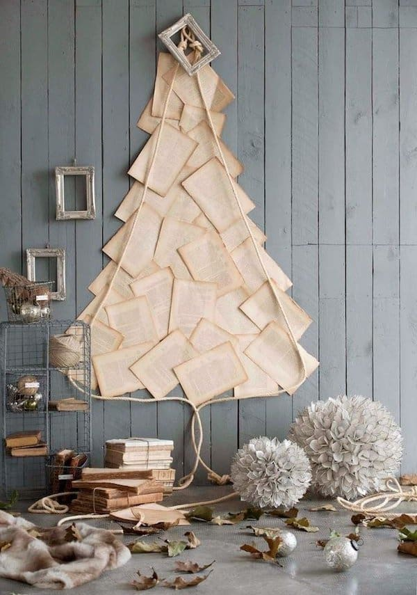 bookpages-christmas-tree