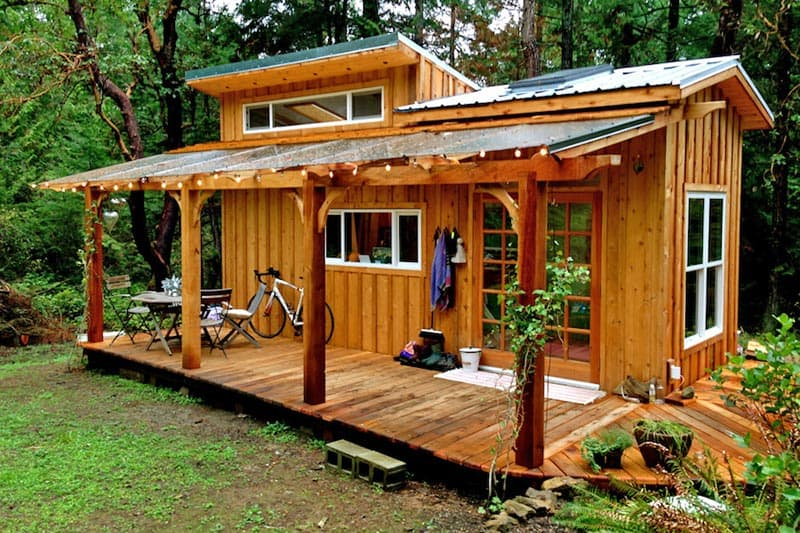 Pleasant Cozy Log Cabin Style Tiny Home Diy Cozy Home Largest Home Design Picture Inspirations Pitcheantrous