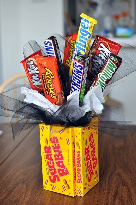 1 fun candy bar bouquet