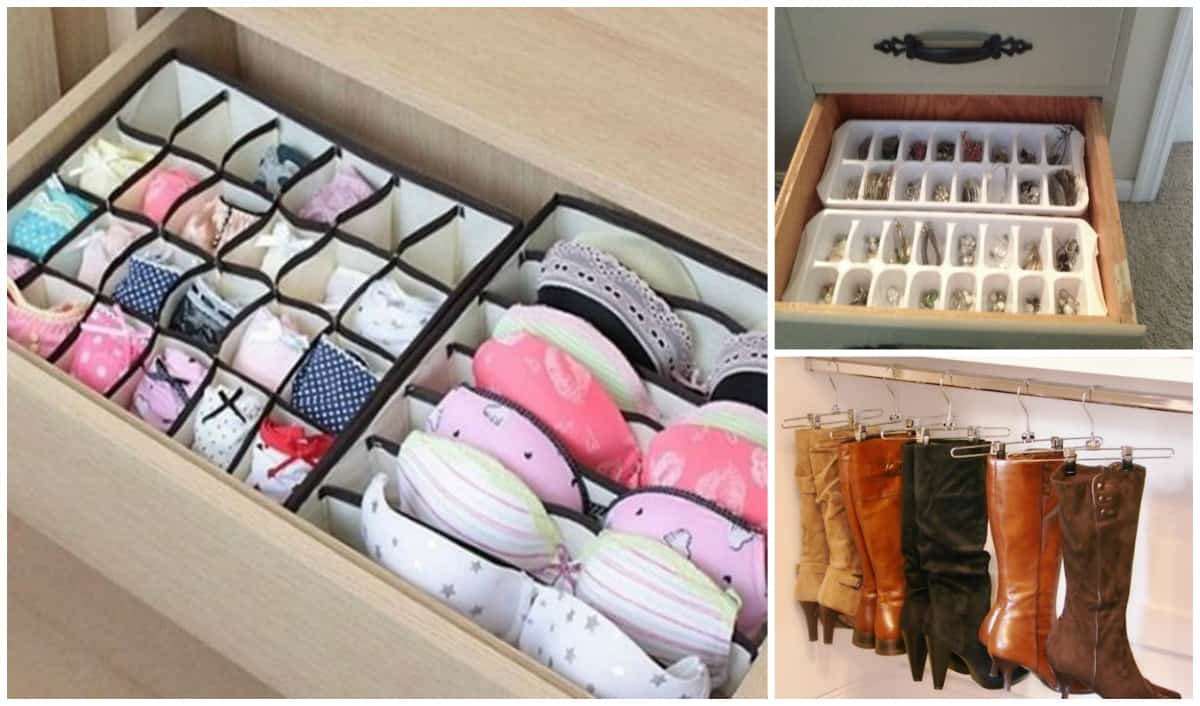 to keep your closet and dresser organized for many of us organizing