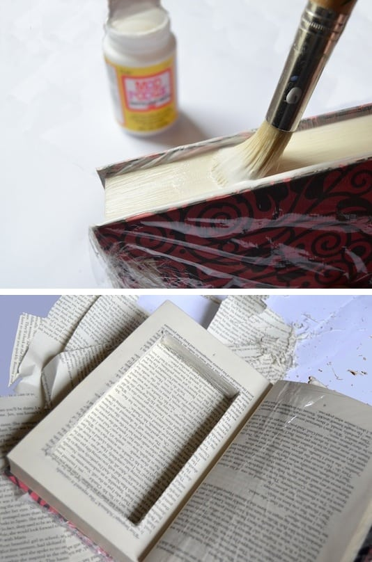 43 fun and creative diy gift ideas everyone on your gift list will 35 top secret book compartment negle Images