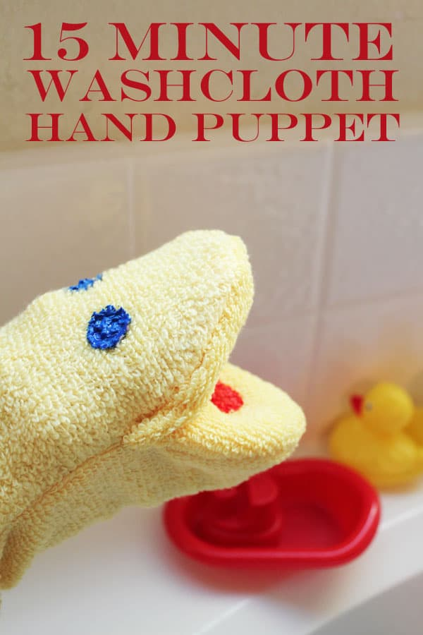 washcloth-puppet