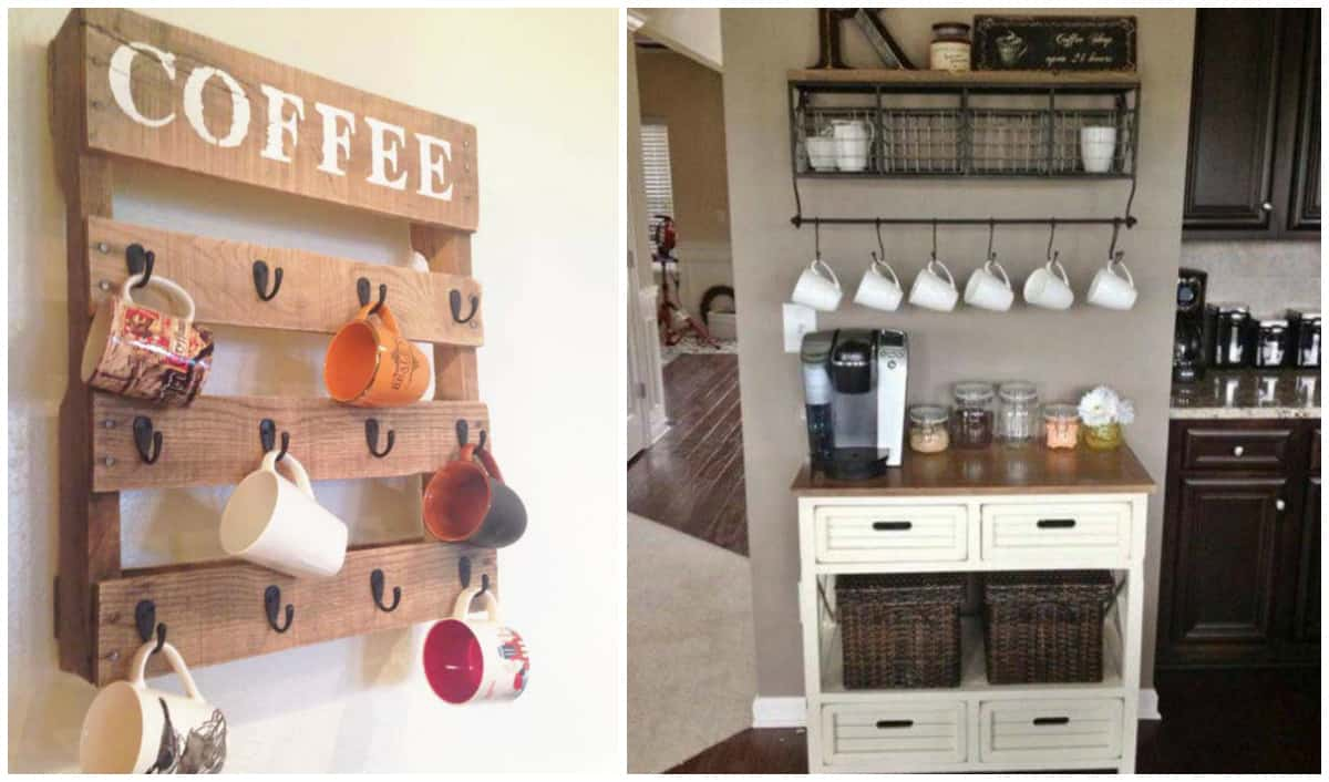25 Creative Ways To Display Your Tea And Coffee Mugs