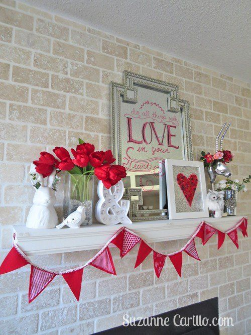 50 Fun And Creative Diy Valentine S Decorations That