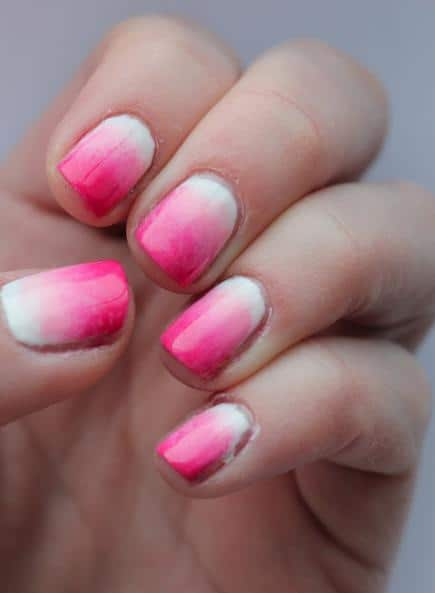 pink-ombre