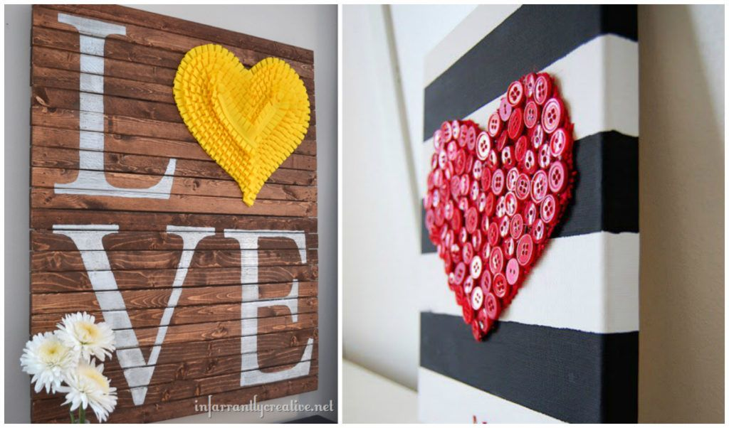 50 Fun And Creative Diy Valentine S Decorations That Anybody Can Do Diy Cozy Home