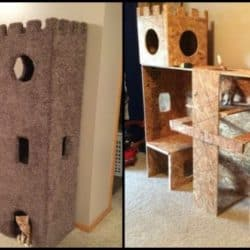 Check Out This DIY Cat Castle