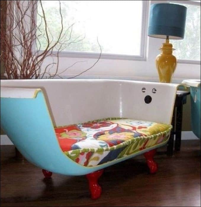 bathtub-bench