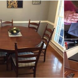 Watch This Amazing Dining Room Transformation Unfold Step By Step