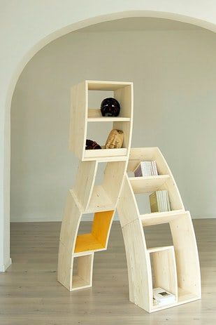 tipsy-bookcases