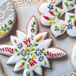 Beautiful Lace Pattern Cookies Tutorial