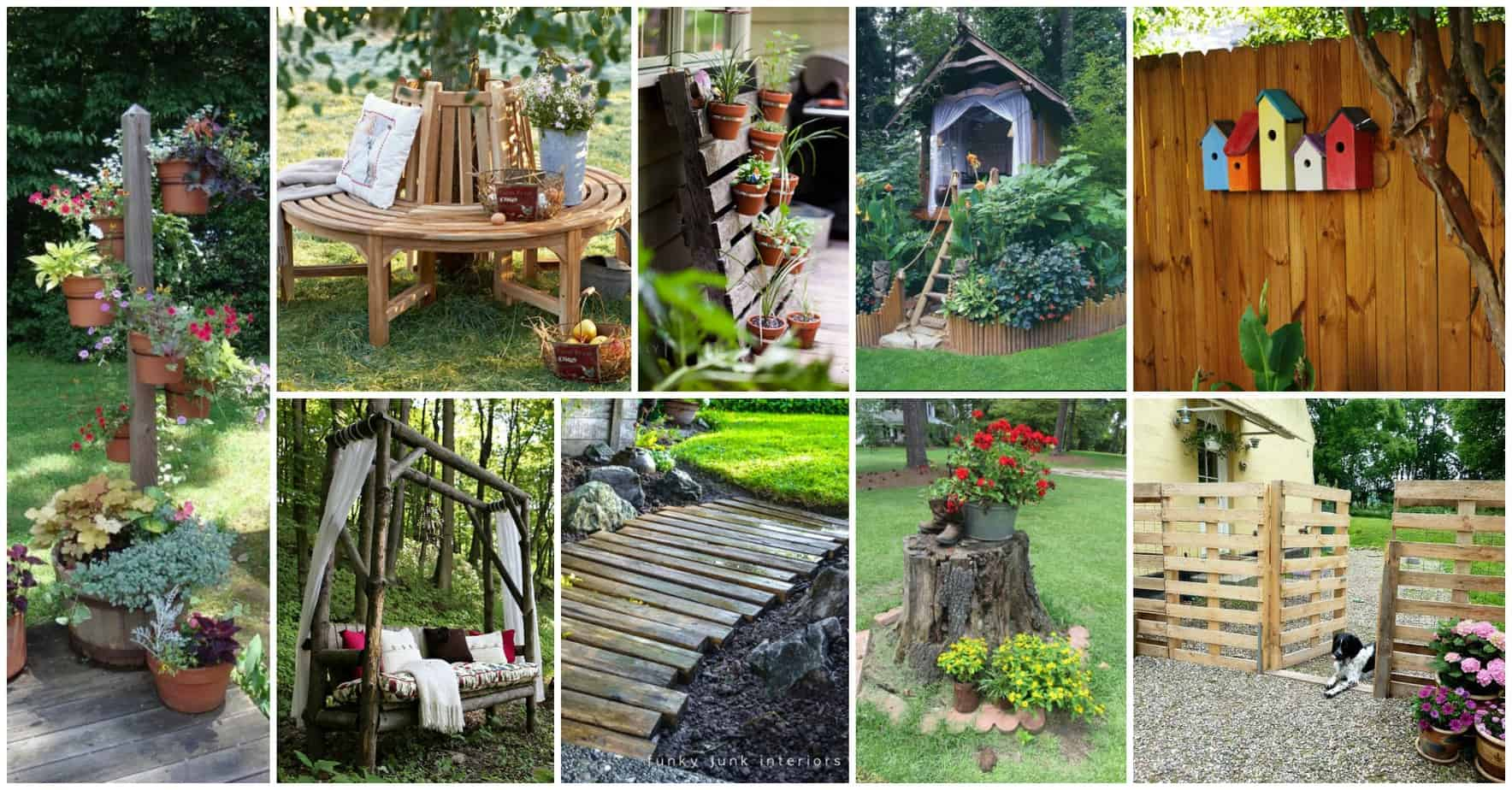 bring some diy wooden whimsy into your yard diy cozy home
