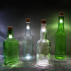 Quickly Turn Any Bottle Into A DIY Lamp