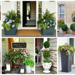 20 Smart Ways To Personalize Your Front Door With Flowers