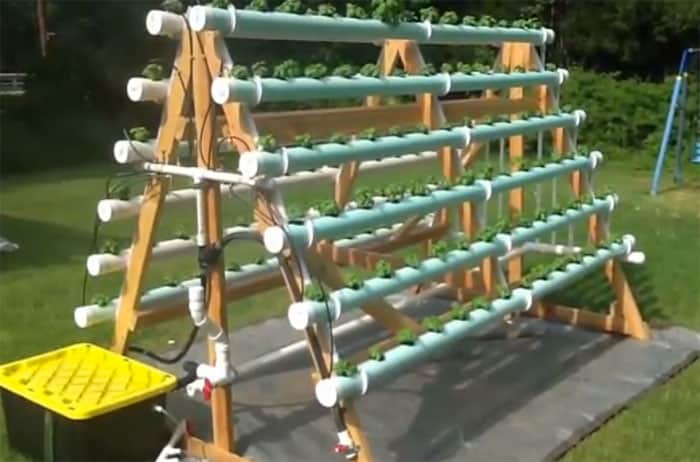 How To Build A Hydroponic Veggie Garden DIY Cozy Home
