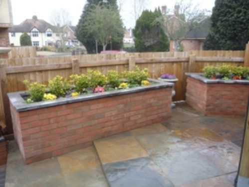 raised-brick-flower-bed