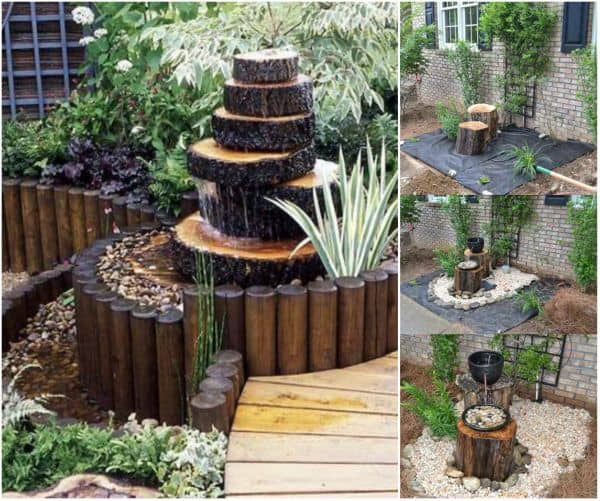 19 Handmade Cheap Garden Decor Ideas To Upgrade Garden: 40 Gorgeous DIY Wood Home And Garden Decorations
