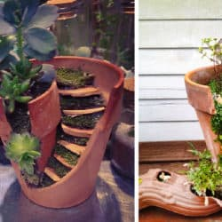 These Broken Pot 'Fairy Gardens' Are The Perfect Touch Of Whimsy