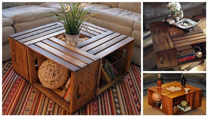 Image Result For Diy Upcycle Coffee Table