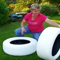 Follow These Easy Steps To Make A DIY Tire Planter