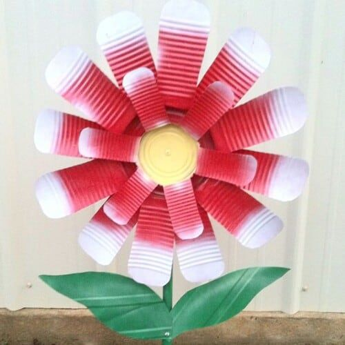 tin-can-flower