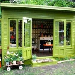 Need to Get Away? Create Your Own She Shed