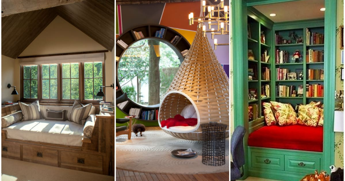 11 Inspiring Reading Rooms And Nooks