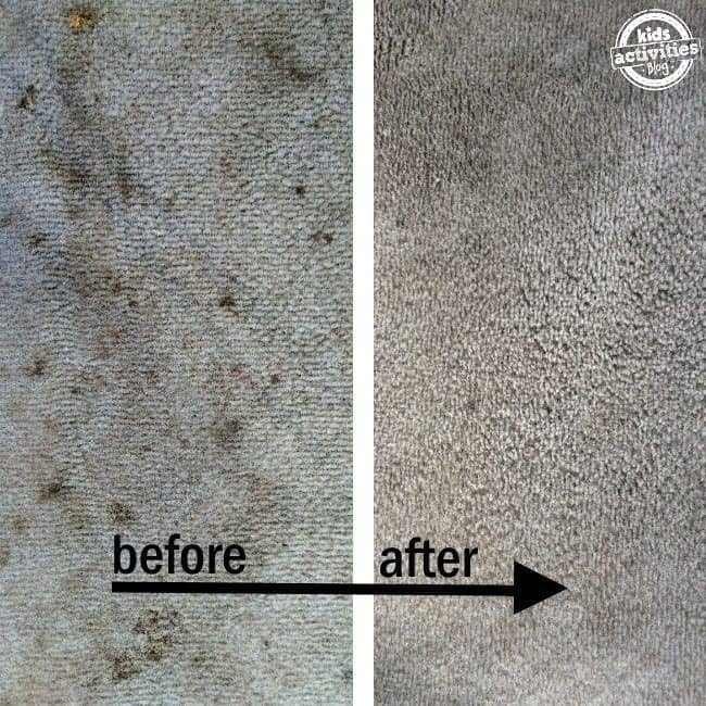 uses for hydrogen peroxide carpet cleaner