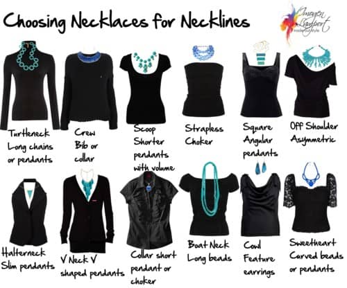 fashion mistakes neckline accessories