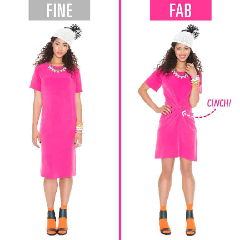 fashion mistakes shapeless dress 1