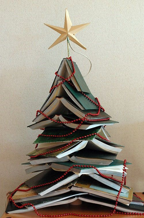 DIY Christmas tree book 1