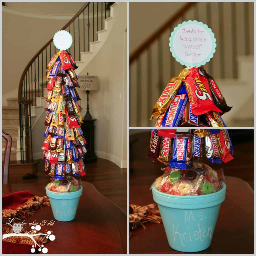 DIY Christmas tree candy