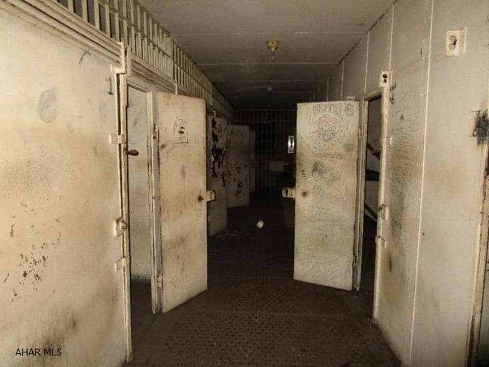 prison turned into a home cells