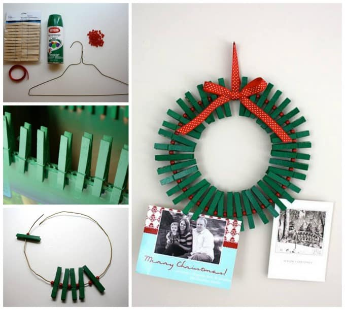 diy christmas decorations card holder