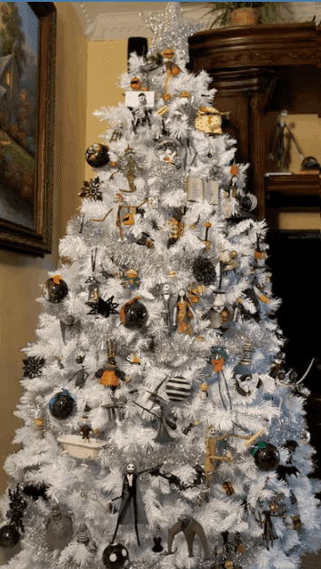 the Nightmare Before Christmas crafts christmas-tree