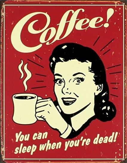gifts for coffee lovers sign