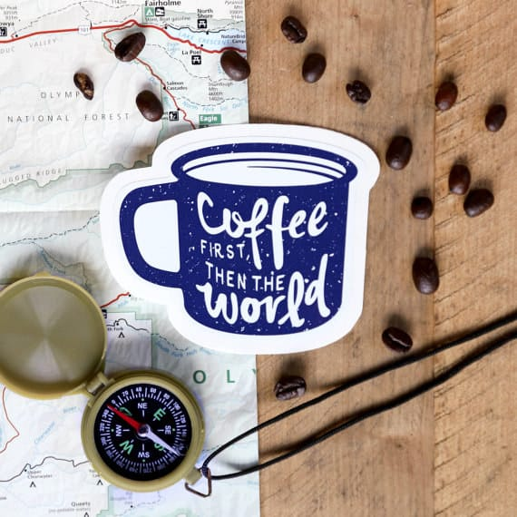 gifts for coffee lovers sticker