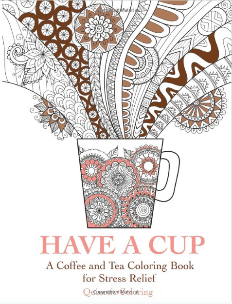 gifts for coffee lovers coloring book