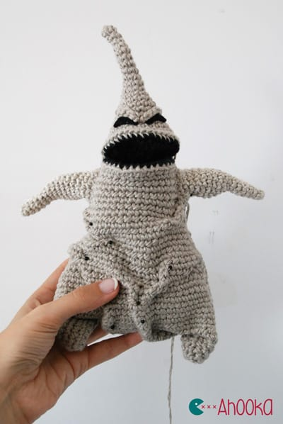 the Nightmare Before Christmas crafts crochet oogie boogie