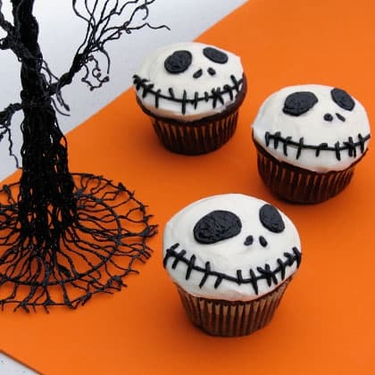 the Nightmare Before Christmas crafts cupcakes
